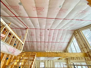fibreglass insulation in minnesota Northland Spray Foam Insulation Company In Minnesota Northland Spray Foam Insulation Longville MN